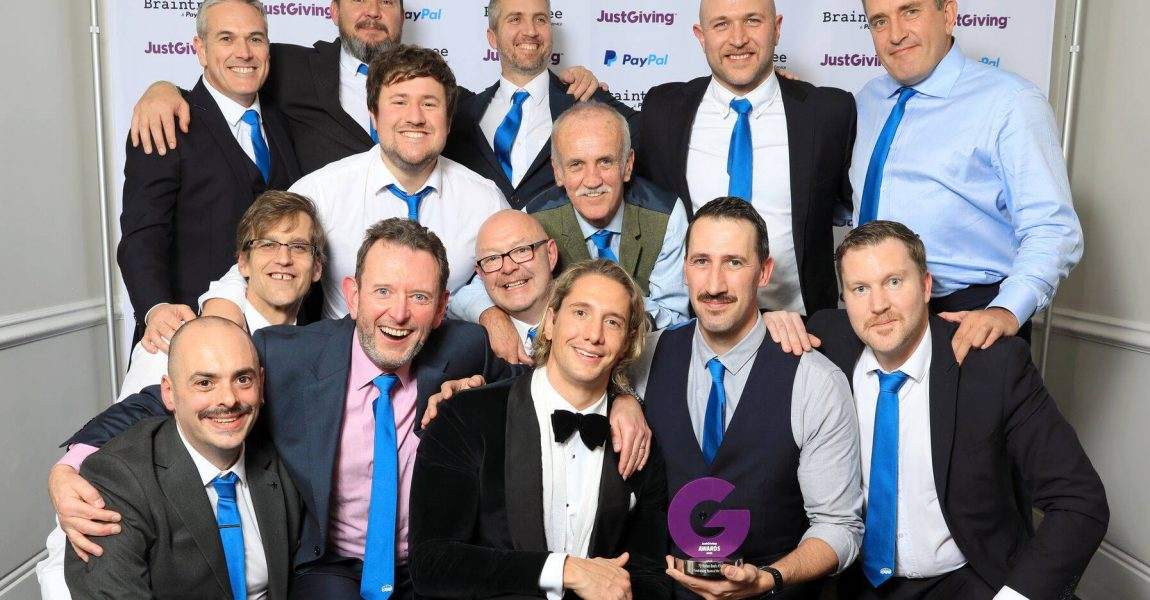5in55 Crowned Just Giving Fundraising Team of the Year 2018